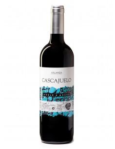 Botella de vino Cascajuelo tinto roble